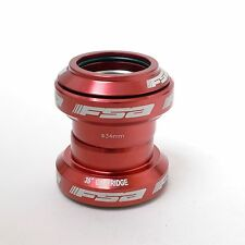 "FSA ORBIT MX Threadless Road Headset 1-1/8"" w/o top cap Red"