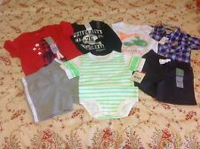Baby Boy's clothes lot 12-18 mo Children's Place Carter's Oshkosh B'gosh