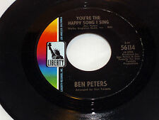 Ben Peters: You're the Happy Song I Sing / San Francisco....  [VG++ Copy]