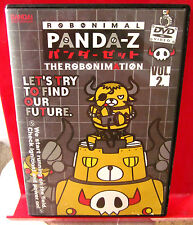 ROBONIMAL PANDA-Z anime cartoon DVD Bandai 2005 robots animation retro-style