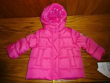 NEW GIRL'S CARTER'S PINK JACKET KITTY SIZE 6-9 MOS MSP $50.00
