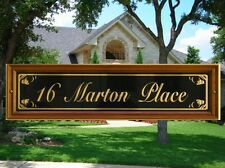 Custom Made House Signs,Custom House Sign Numbers & Street Name Plaques.