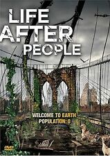 Life After People. Post Apocalypse Doco. New In Shrink!