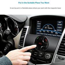 Bluetooth Car Kit MP3 Player Hands-Free Call Wireless FM Transmitter Modulator