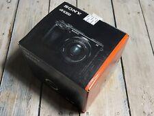 Sony A6300 Fotocamera Digitale-solo la scatola! (istruzioni, materie plastiche incluso)