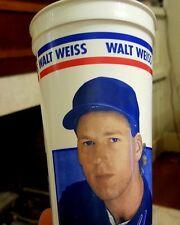 WALT WEISS Florida 1993 ICEE Plastic CUP 24 oz Baseball