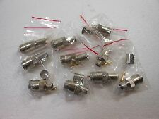 10pk - N Female Crimp  LMR400/9913  Teflon  (FF)