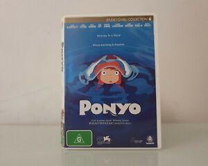 Ponyo (2008) ~ Anime Adventure Fantasy ~ Hayao Miyazaki DISC LIKE NEW