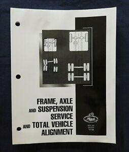 "2007 GENUINE MACK TRUCK ""FRAME AXLE & SUSPENSION SYSTEMS"" SERVICE REPAIR MANUAL"