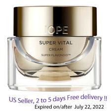 IOPE Super Vital Cream, Super Flavonoid 50ml + Free Sample !!