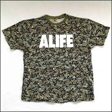 Alife Spellout T-Shirt | XL | Camouflage | Rare