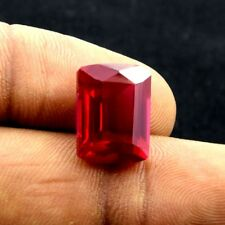14.00 Cts Excellent Quality Hardness 9 Cushion Pigeon Blood  Ruby Loose Gemstone