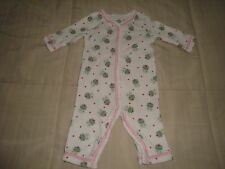 LITTLE ME ONE PIECE & GYMBOREE PANTS GIRLS SIZE 3 MOS