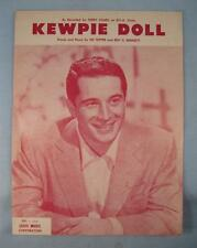 Kewpie Doll Sheet Music Vintage 1958 Perry Como By Sid Tepper Roy C Bennett (O)