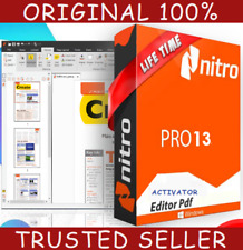 Nitro Pro 13 PDF Reader & Editor Lifetime version For 🔥 Windows 🔥