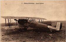 CPA   Bron- Aviation - Spad biplace  (451095)