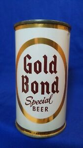 GOLD BOND SPECIAL BEER ~ 12 FL OZ FLAT TOP CAN ~ CLEVELAND OHIO ~ STUNNING