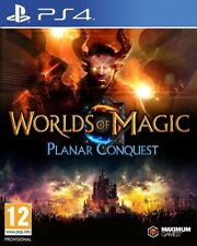 Worlds Of Magic Planar Conquest PS4 * NEW SEALED PAL *