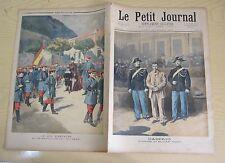 Le petit journal 1894 193 Le roi d'Espagne et le bataillon du roi bébé