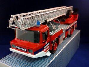 Bulgarian Schuco Magirus Deutz DL 23-12 Fire Security Die Cast 1:50 New Old Box