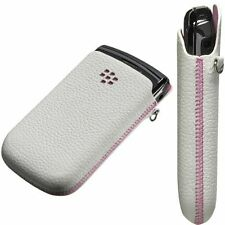Funda Original BlackBerry 9800 ,9810 Torch blanco/rosa Blister ACC-32840-201