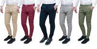 Pantaloni uomo Class primavera estate slim fit casual in cotone