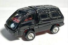 1984 Vintage Black Nissan Van Transformer Japan GoBots Action Figure - Selbot