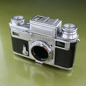 defective CONTAX III RF body 1938, ZEISS IKON, Germany 3 rangefinder  ☆☆