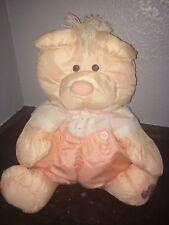 Fisher Price Puffalump Peach  Bear In Romper Vintage1986