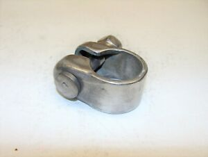 """~ Vintage SCHWINN Seat Post Clamp with """"S"""" Bolts # 1021 60's 70's ~"""