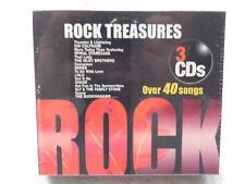 3 PAK: ROCK TREASURES - V/A - 3 disc CD - BOX SET Sealed