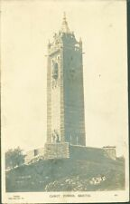 BRISTOL UK SABOT TOWER BAS RELIEF PHOTO CARD POSTCARD *SEE NOTES*