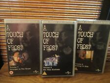 A Touch of Frost   - Three VHS Video Tapes - Nothing to Hide / Stranger House
