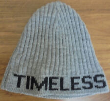 L4733 GORRO CHICCO T-5 CANALÉ GRIS CON LETRAS TIMELESS