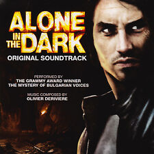 """ALONE IN THE DARK"" PC Video Game Soundtrack CD/EP Olivier Deriviere *RARE!*"