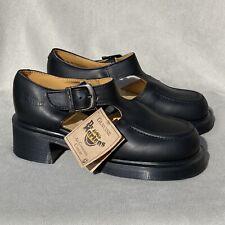 NEW Vintage Dr. Martens England Heeled Mary Janes UK 4