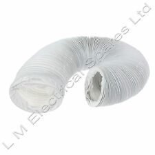 For Hotpoint Vented Tumble Dryer Hose Large Flexible Vent Duct Long Pipe 6m / 4""