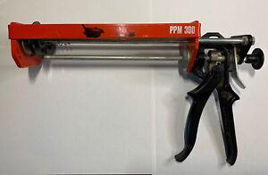 Cox Dual Cartridge Epoxy Heavy Duty Manual Caulking Gun PPM 300 NEW OSI
