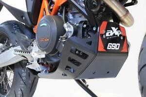 AXP-RACING bash skid plate engine guard KTM 690 SMCR / Enduro HUSQVARNA 701 BLCK