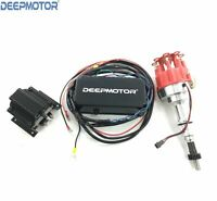 Deepmotor SBF Billet Distributor Ignition Box Coil 289,302,Kit Black