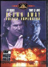 BLOWN AWAY FOLLIA ESPLOSIVA - DVD NUOVO E SIGILLATO, PRIMA STAMPA, NO EDICOLA