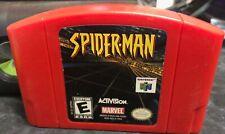 Nintendo 64 SPIDER-MAN Game