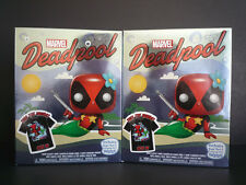 Funko POP Deadpool Metallic Mermaid Target Exclusive with T-Shirt Size Medium