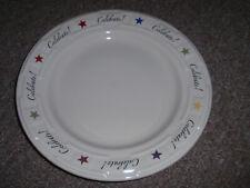 Longaberger Pottery Rare Longaberger Celebrate Plate. New!