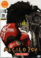 Megalo Box DVD Complete Collection EP 1-13 - Anime - US Seller Ship FAST