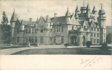 Balmoral castle 1907 tucks view