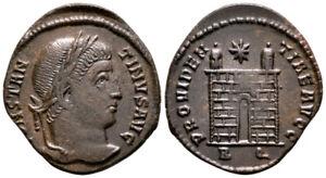 CONSTANTINE THE GREAT (325 AD) Rare Follis. Rome #NB 7818