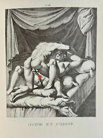 Agostino Carracci Erotic Art Penis Akt Vagina Ovid Corine Antike Mythology Love