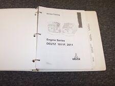 Deutz B1011F B2011 F1011F F2011 L1011F L2011 M1011F M2011 Service Repair Manual