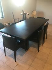 Space furniture table and 6 Leather Chairs